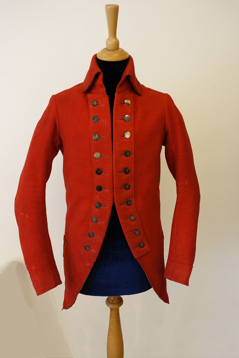 Red riding coat, believed to have belonged to Jane Austen's brother Frank when he was a child