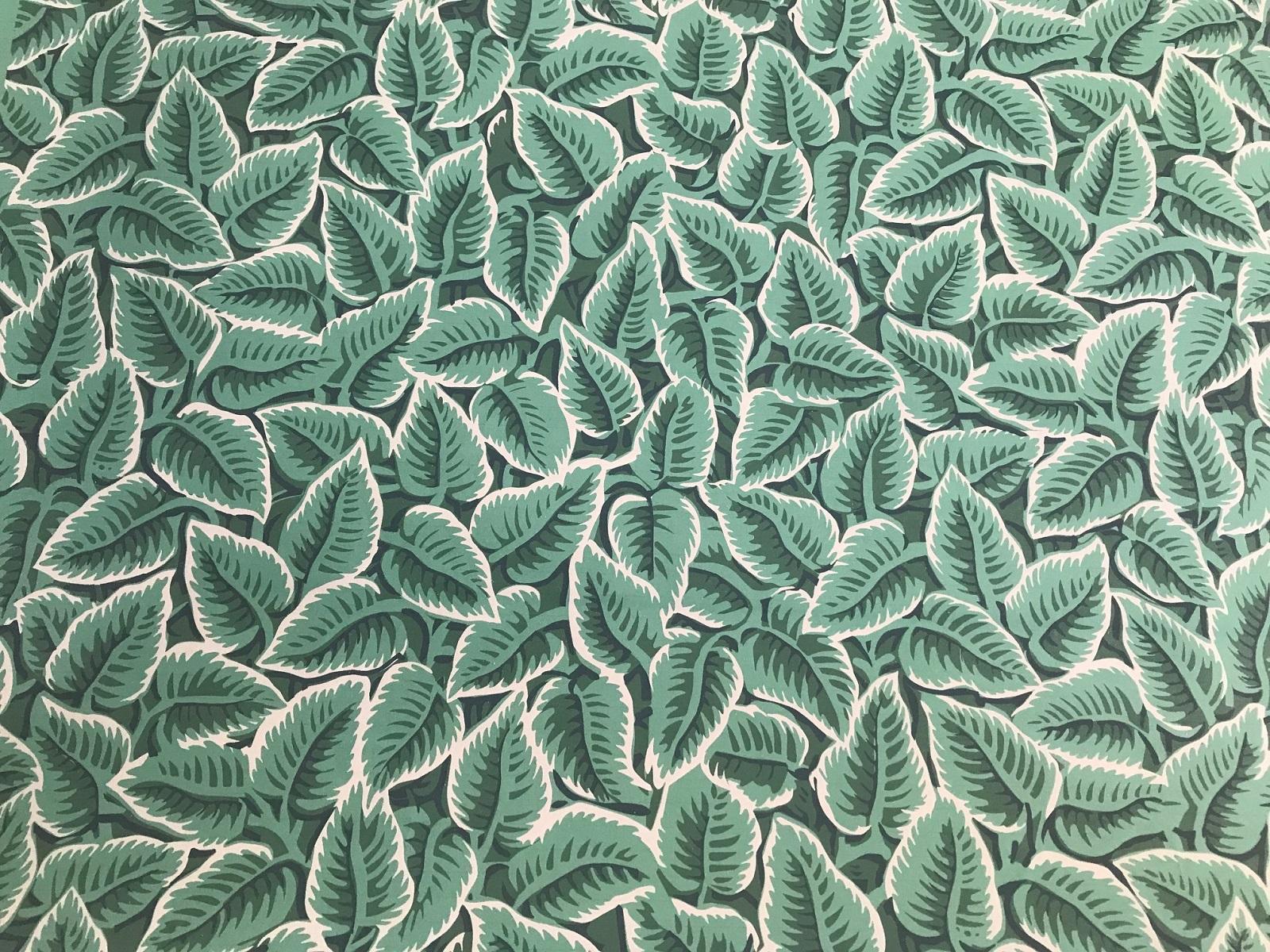 Chawton Leaf wallpaper design