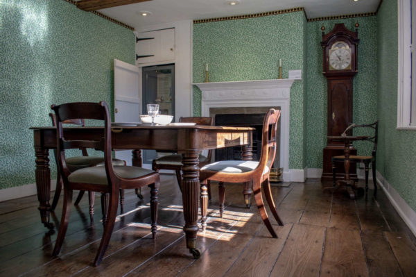 The Dining Parlour at Jane Austen's House