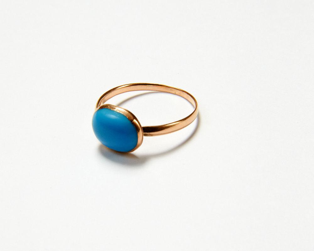Jane Austen's turquoise ring