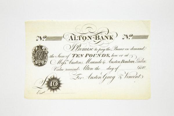 Alton Bank £10 note
