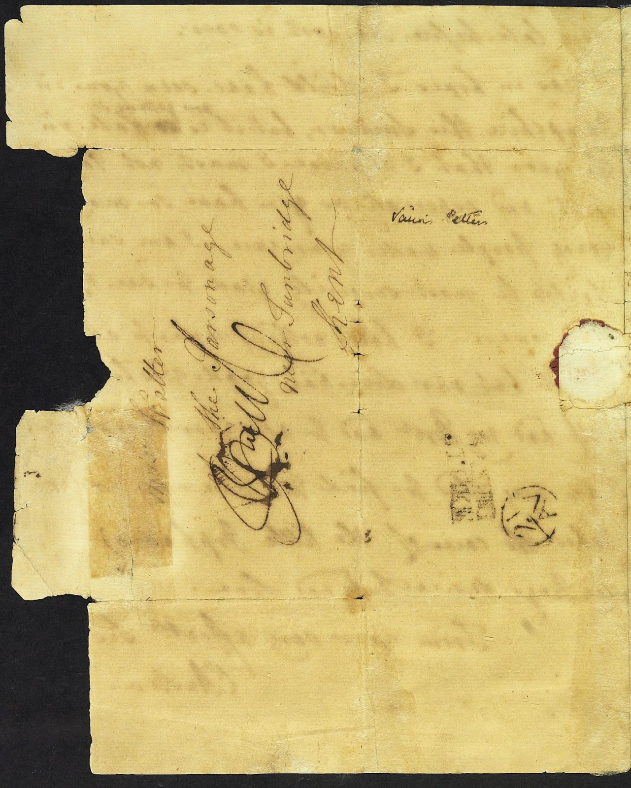 Letter from Mrs Austen to Mrs Walter, 20 August 1775, page 4