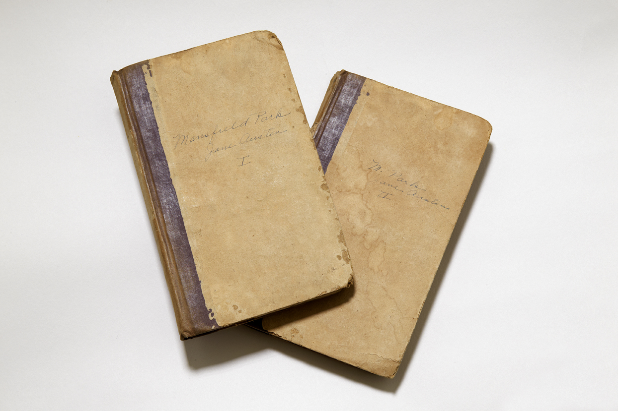First American edition: Mansfield Park in two volumes