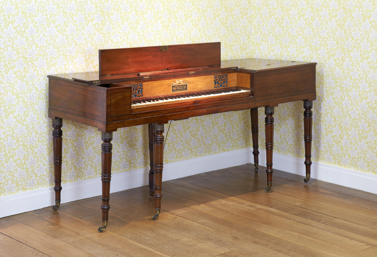 Clementi piano in the Drawing Room at Jane Austen's House