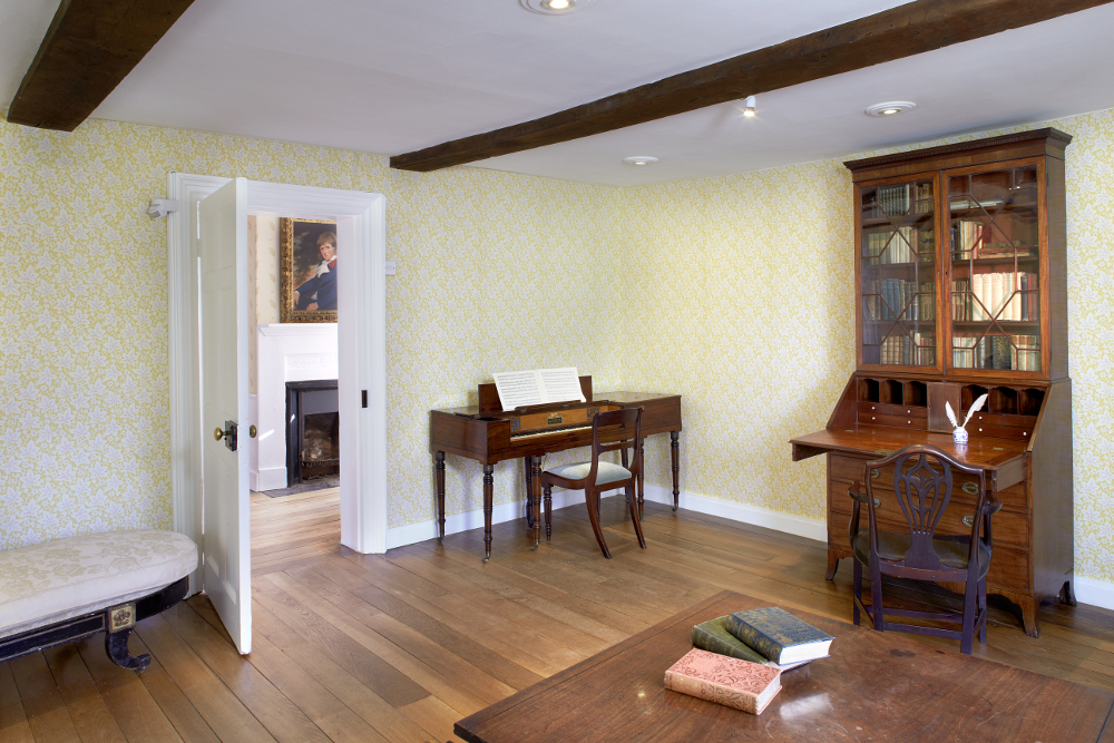 The Drawing Room with Clementi piano