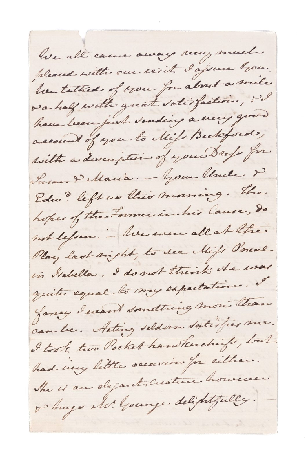 Letter from Jane Austen to Anna Lefroy, 29 November 1814. Page 2