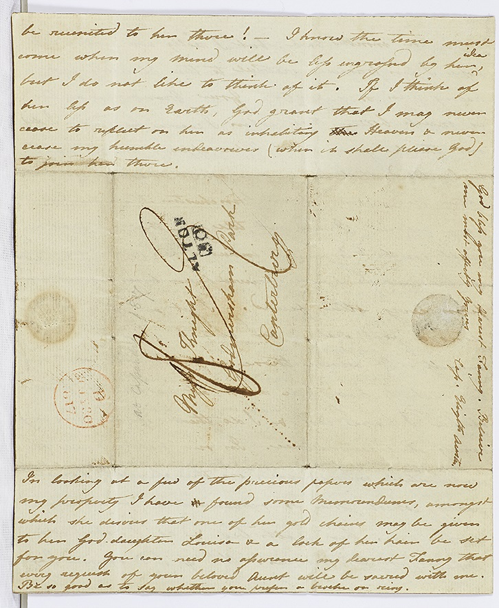 Letter from Cassandra Austen to Fanny Knight, 29 July 1817. Page 2
