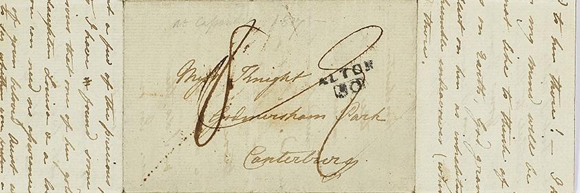 Letter from Cassandra Austen to Fanny Knight, 29 July 1817