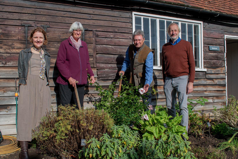 Chawton Cottage Rose Alan Titchmarsh Group