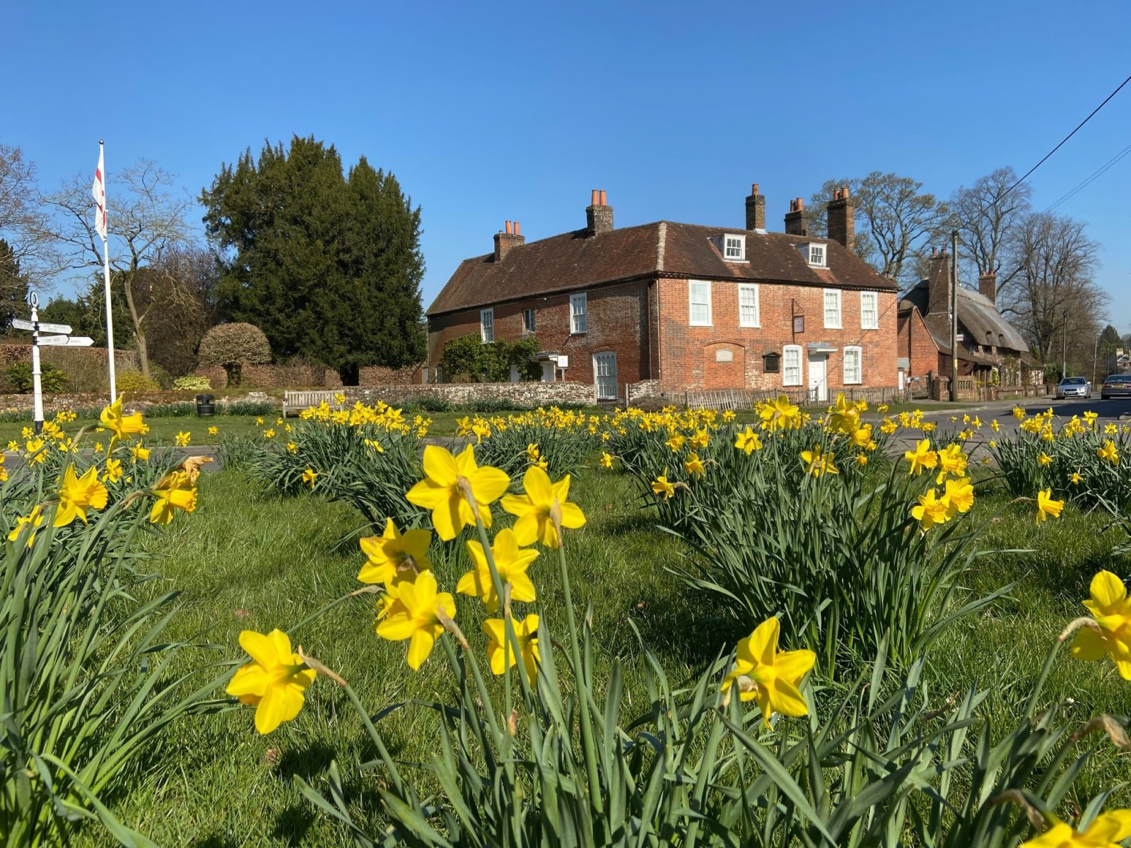 March has brought the daffodils and an architect to Jane Austen's House