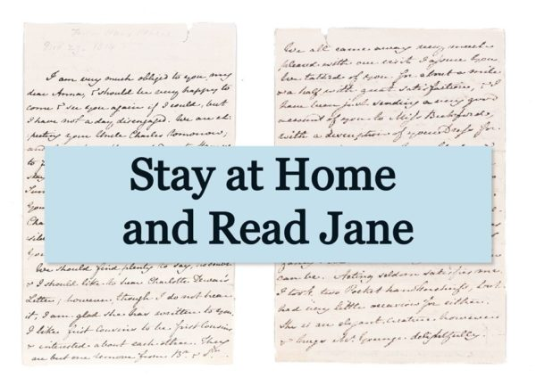 Stay at home and read Jane