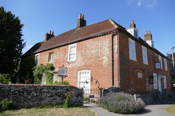 Jane Austen's House in the summer