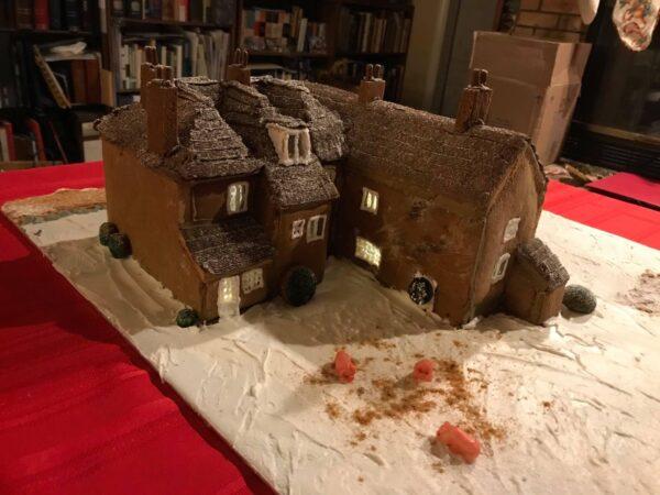 """Jane Austen's House"" (back) by the Henderson family"