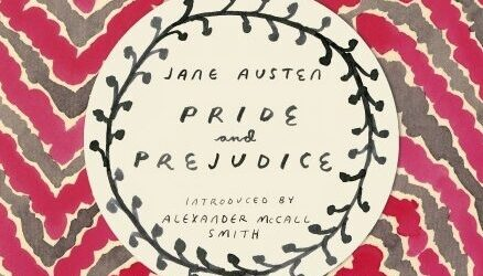 The front cover of the Vintage Classics edition of Pride and Prejudice by Jane Austen