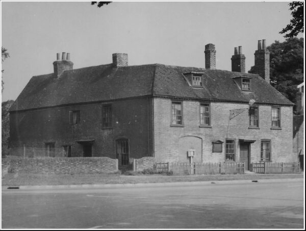 black and white photograph of Jane Austen's House, early 20th century