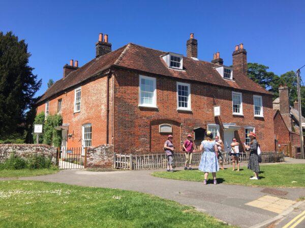 A Village Walk departs from Jane Austen's House