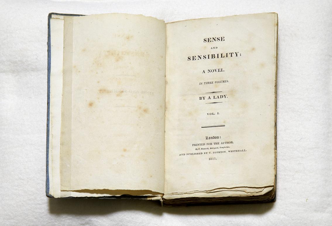 Sense and Sensibility first edition