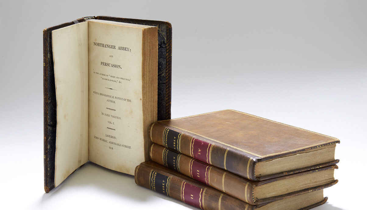 First edition of Northanger Abbey and Persuasion, by Jane Austen