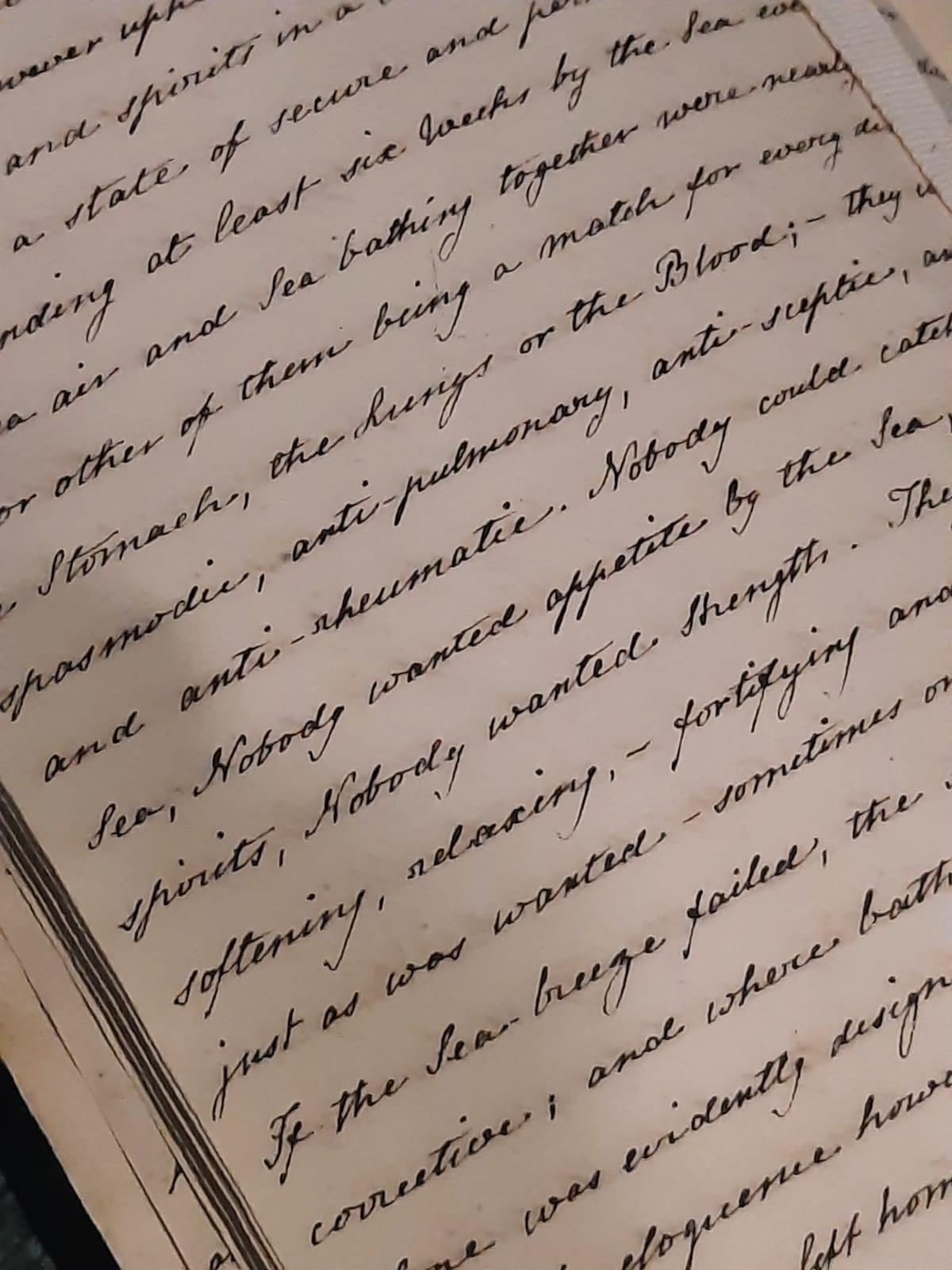 Handwritten copy of Sanditon