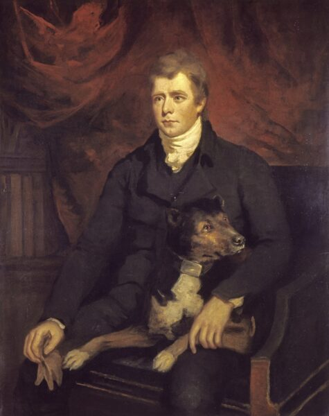 Sir Walter Scott, by James Saxon (1805). Reproduced courtesy of National Galleries of Scotland