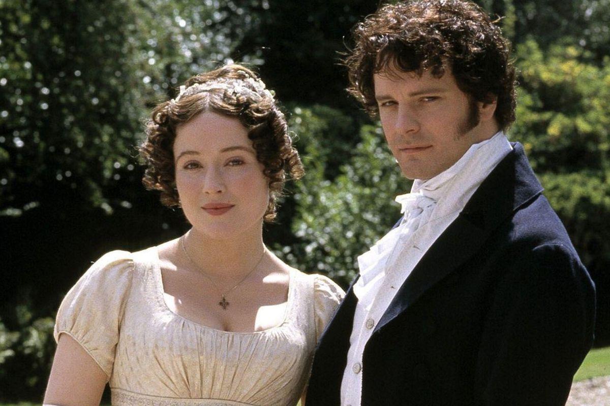 Jennifer Ehle and Colin Firth in Pride & Prejudice (BBC, 1995)