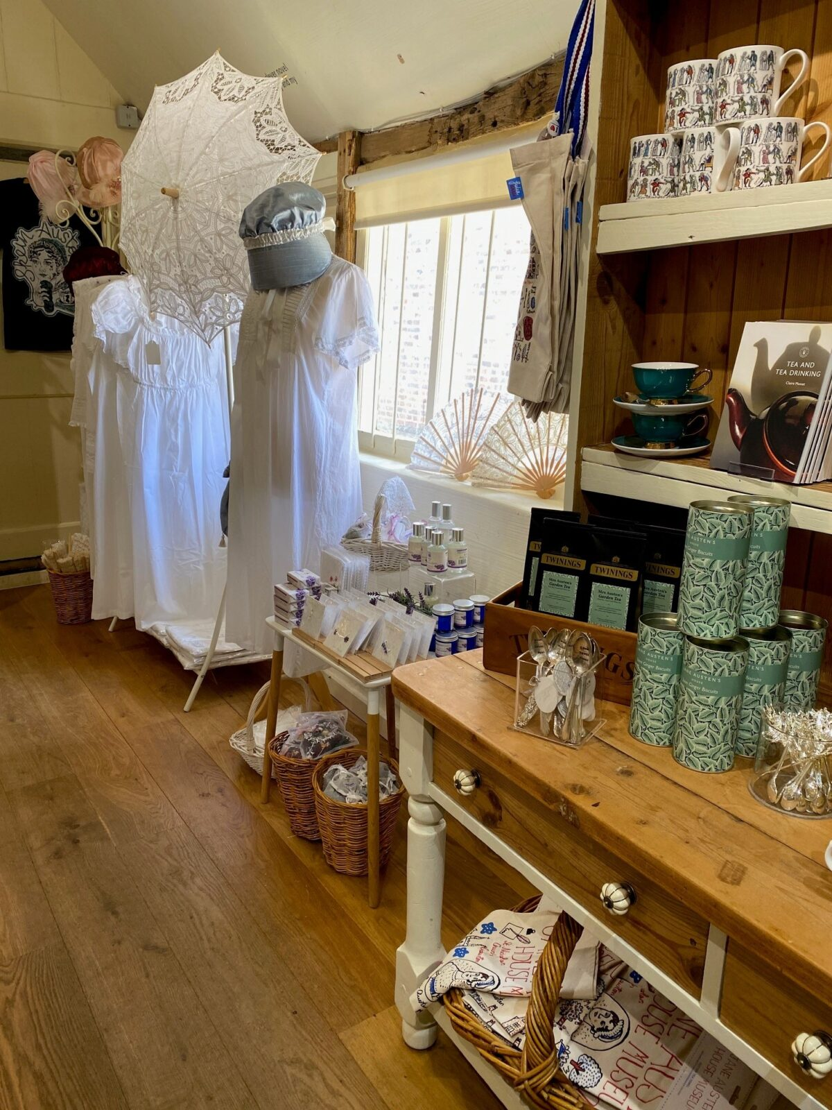 The Gift Shop at Jane Austen's House