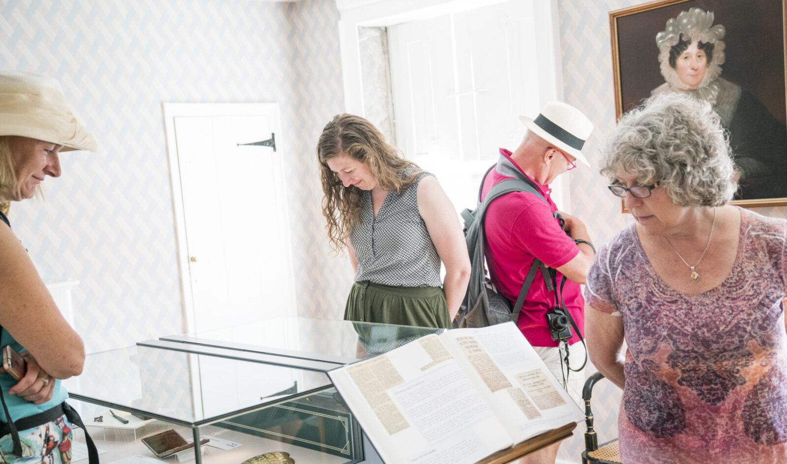 Visitors at Jane Austen's House